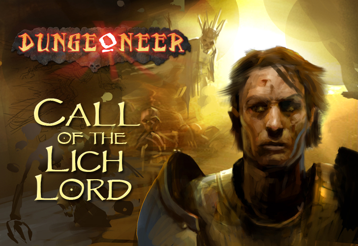 Call of the Lich Lord - Dungeoneer Card Game - *NEW*